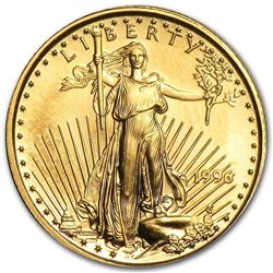 1996 1/10 oz Gold American Eagle BU