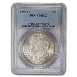1897-O Morgan Dollar MS-62 PCGS