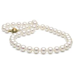 White Elite Collection Pearl Necklace, 9.5-10.0mm
