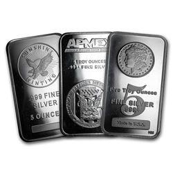 5 oz Silver Bar - Secondary Market