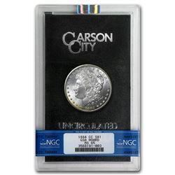 1884-CC Morgan Dollar MS-65 NGC (GSA)
