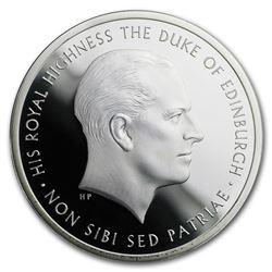 2017 GB £5 Proof Silver Prince Philip: Life of Service Piedfort