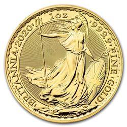 2020 Great Britain 1 oz Gold Britannia BU