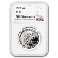 1960 Franklin Half Dollar PF-67 NGC