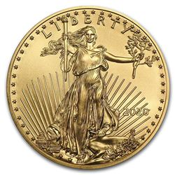 2020 1 oz Gold American Eagle BU