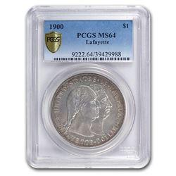 1900 Lafayette Dollar MS-64 PCGS