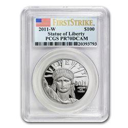 2011-W 1 oz Proof Platinum American Eagle PR-70 PCGS (FS)