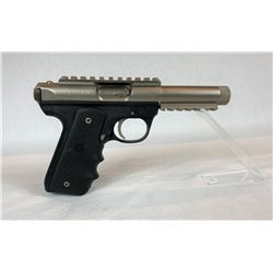 RUGER MK III 10/22 TACTICAL PISTOL W/ 4.4 Inch THREADED MUZZLE BARREL & PICATINNY RAIL