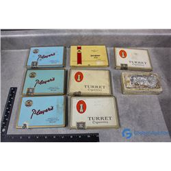 (8) Tobacco Tins - Player's, Turret, etc