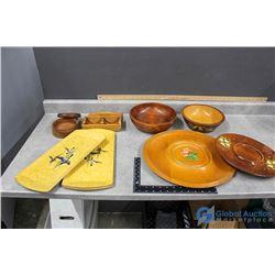 Wooden Kitchenware - Bowls, Serving Trays, Platters, etc