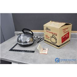 Filtro Electric Kettle with Original Box