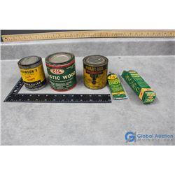 Vintage Wood Filler, Plastic Wood, Finish, Tube of Cement