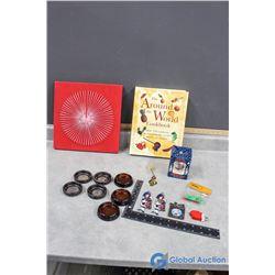 Cookbook, Ornaments, etc