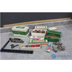 Vintage Singer Sewing Machine Accessories in Original Boxes
