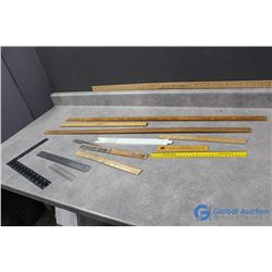 Meter Sticks and Rulers