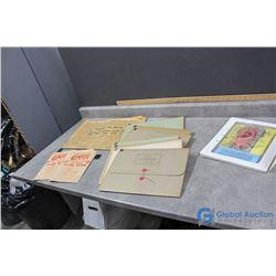 Educational Folders, 1965 Saskatoon Star Phenix, etc