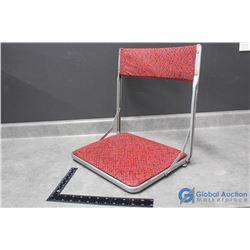 Vintage Folding Stadium Chair w/ Original Box