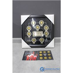 Coca-Cola Limited Edition Collection of Canadian Olympic Team Coins