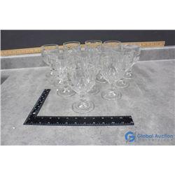 (13) Piece Glass Set
