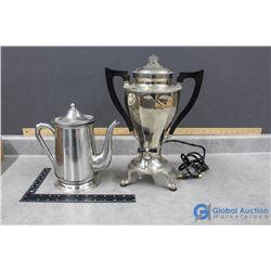 Electric Coffee and Tea Pot