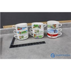 (9) Campbell's Soup Bowls
