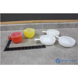 Glasbake Cups and Bowls