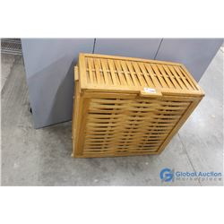 Wooden Storage Hamper