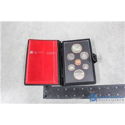 1981 Royal Canadian Mint Coin Set in Case