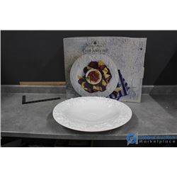 Antica Fornace Chip & Dip Dish Set in Box
