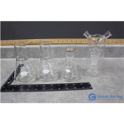 (3) Measuring Glasses (Pyrex) & 2-in-1 Oil & Vinegar Cruet