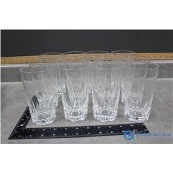 (12) Crown Royal Glass Set