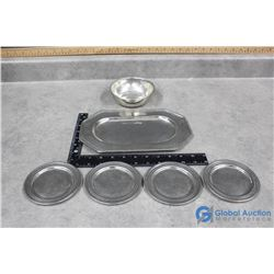 Pewter Set of Trays