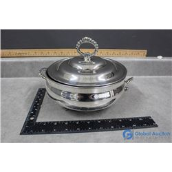 Viking Silver Plate Covered Casserole