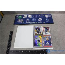 Toronto Maple Leafs Plaque & Album of 36 Cards