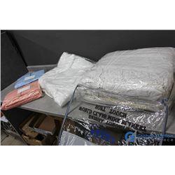 Bed in a Bag - Comforter, Sheet Set, Mattress Topper