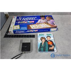 Scabble Junior, DVD Set & Phillips Tape Recorder