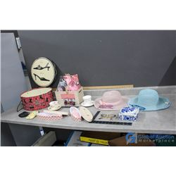 Hat Box w/Assorted Items & Pamper Gift Box