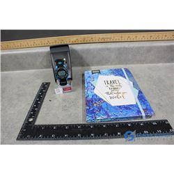 New Blue Journal & Timex Watch
