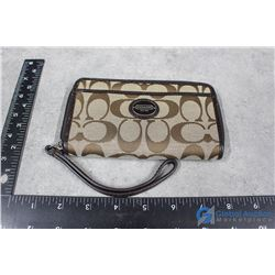 Beige Coach Wallet