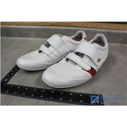 Mens White Lacoste Runners - Size 11 1/2