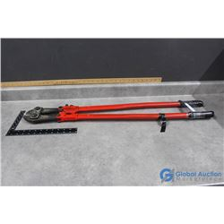 Red Bolt Cutters 36""