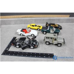 (6) Toy Cars