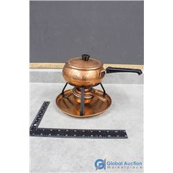 Copper Fondue Set