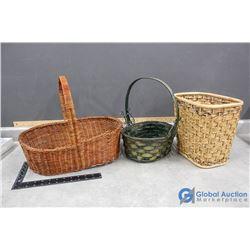 Wicker Baskets & Bin