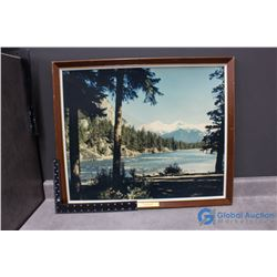 Canadian Pacific Railway Framed Picture