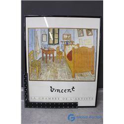 Vincent Van Gogh Framed Print