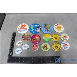 (15) Pinback Buttons