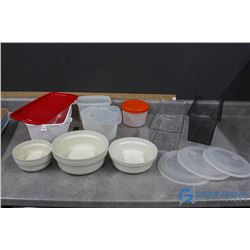 Oven Safe Food Keepers, Fridge Storage Bins & Food Storage Containers