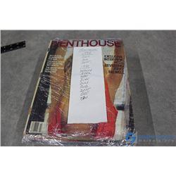 (12) Penthouse Magazines
