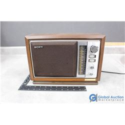 Vintage Sony Radio